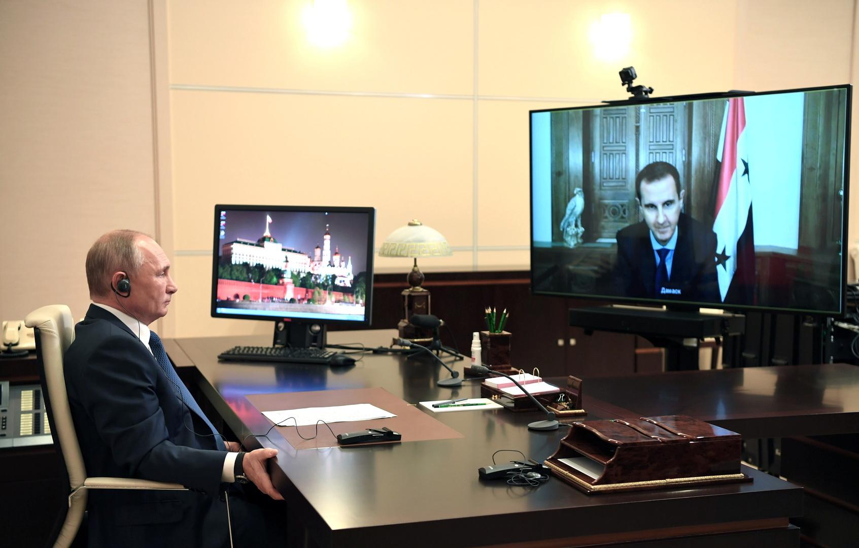 بوتين يزعم أنه سأل الأمريكيين عن بديل الأسد في سوريا...فماذا أجابوه ؟