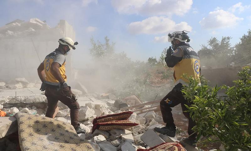 مقتل مدني بقصف مدفعي لقوات النظام على ريف ادلب