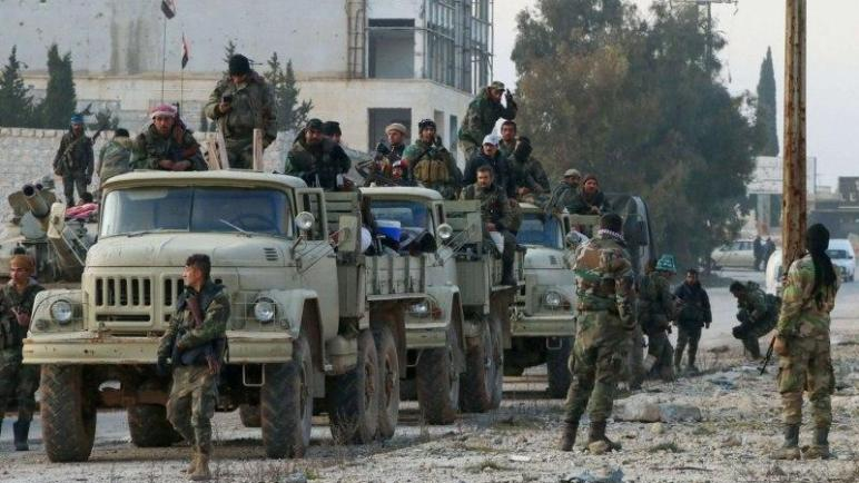 The regime withdraws 300 fighters from Idlib fronts to the Badia