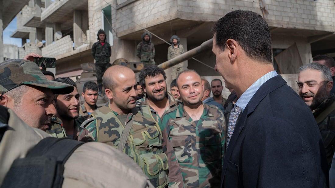 بشار الأسد  يجري تغييرات قيادية  جديدة   في  مناصب حساسة بقواته وأجهزته الأمنية