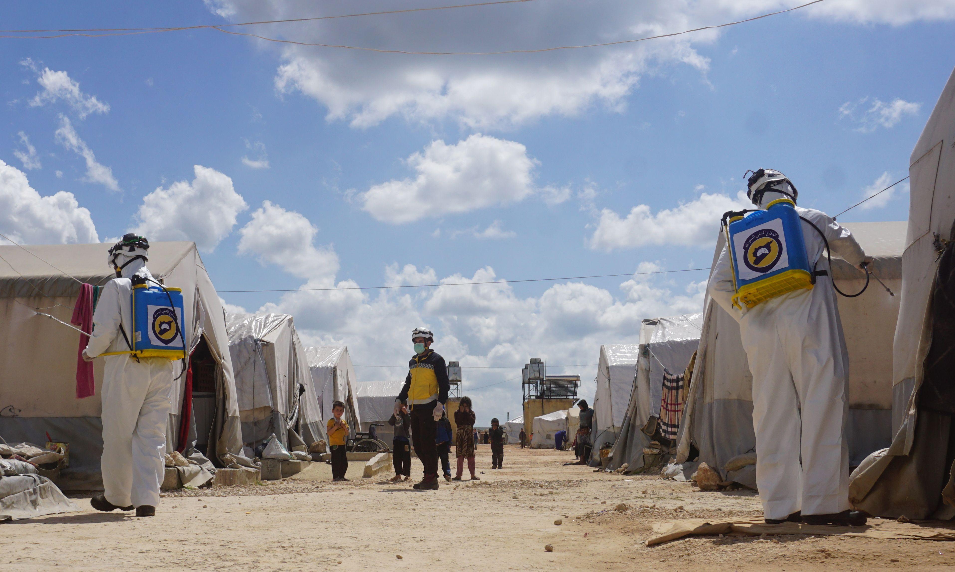 ارتفاع ملحوظ  في اعداد الإصابات بفيروس كورونا في الشمال السوري