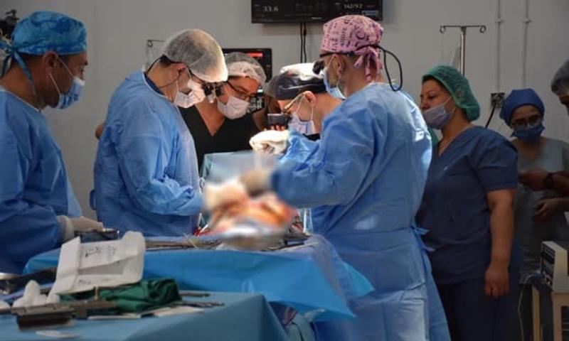 أطباء سوريون ينجحون بإجراء أول عملية قلب مفتوح في القامشلي