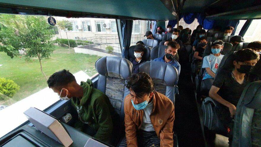 تركيا...ضبط 45 مهاجر غير نظامي جنوبي البلاد