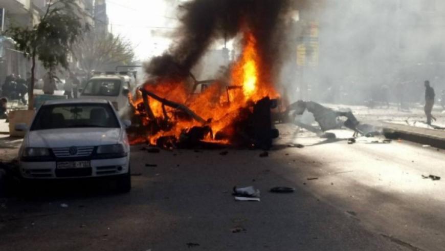 قتلى وجرحى من مخابرات النظام بانفجار في درعا