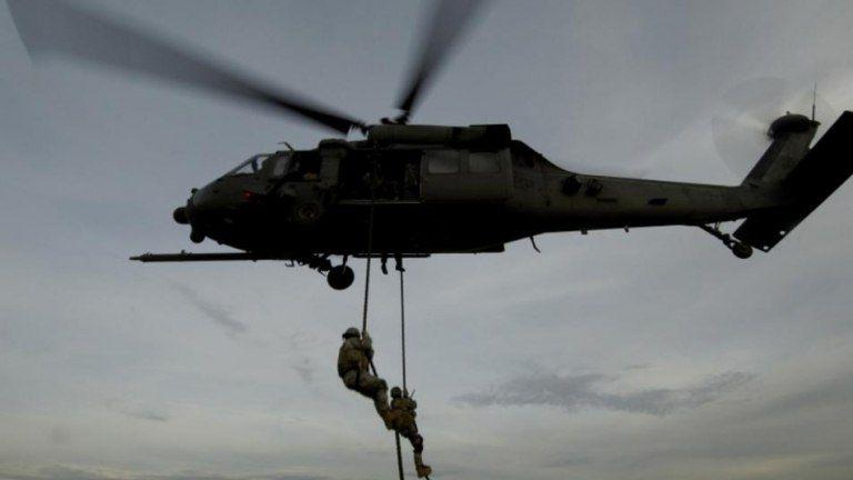 The coalition arrests two people in an airdrop operation in Deir Ezzor