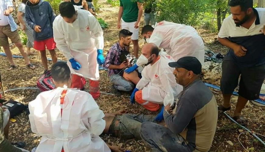 وفاة عامل سوري في لبنان وإصابة 3 أخرين إثر سقوطهم في بئر
