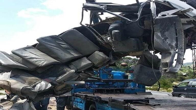 مصرع 4 طلاب جامعيين بحادث سير في اللاذقية