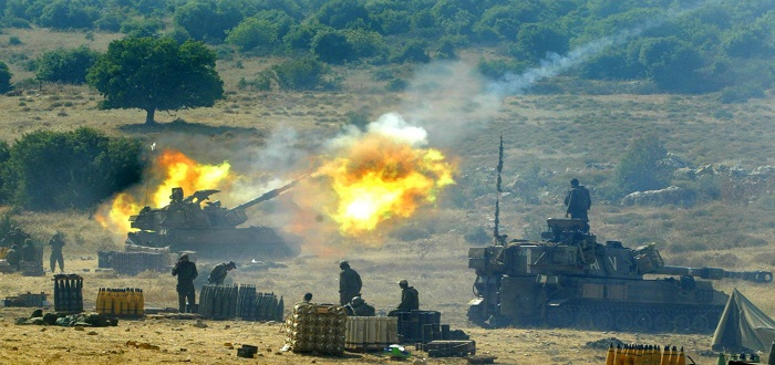 The Israeli occupation destroys a military post of the regime in Al-Quneitra