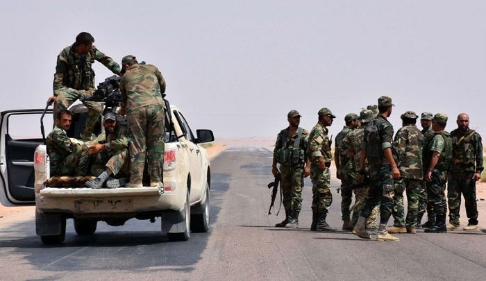 Two members of the regime were killed in an explosion in Deir Ezzor