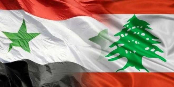 اجتماع لبحث التعاون الاقتصادي بين النظام و لبنان