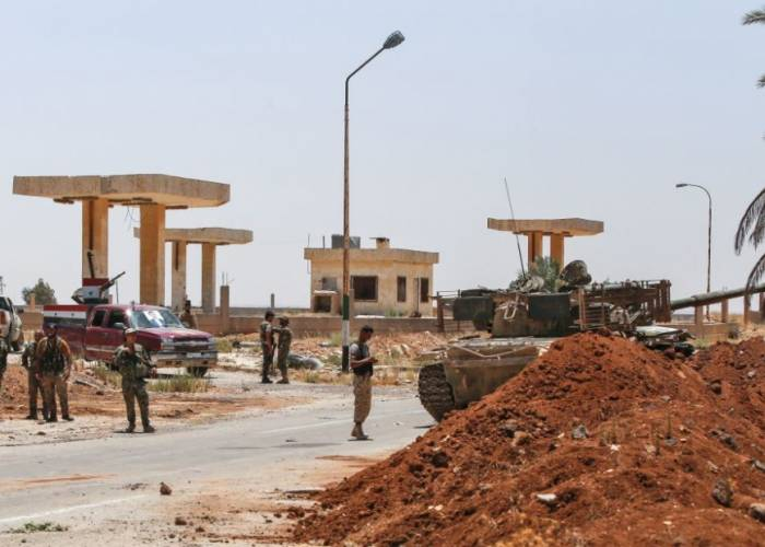 Like what happened in Daraa al-Balad....a new settlement in the neighboring of al-Yadudah town begins today