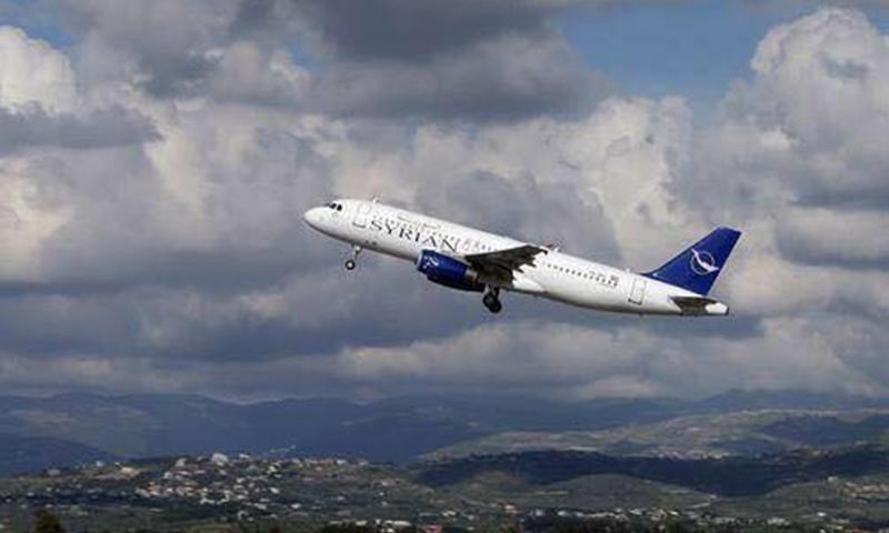 النظام يعلن عن تسيير رحلات جوية من مطار حلب إلى الكويت