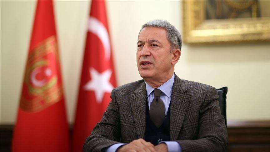 وزير الدفاع التركي يرد على اتهامات روسيا بشأن ادلب