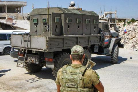 قوات النظام تدخل إلى بلدة اليادودة في ريف درعا الغربي