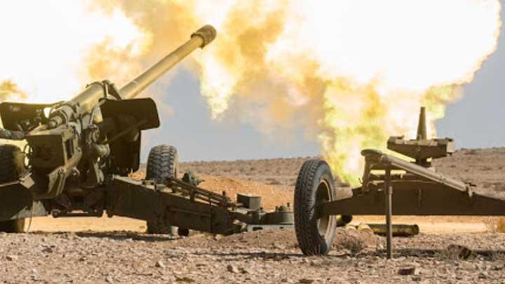 الجيش الوطني يستهدف مواقع قسد في ريف الحسكة