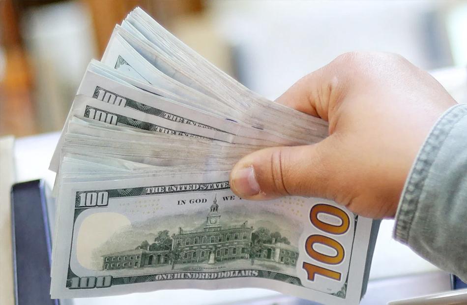 ارتفاع كبير يسجله الدولار  عند إغلاق  تداولات الاثنين
