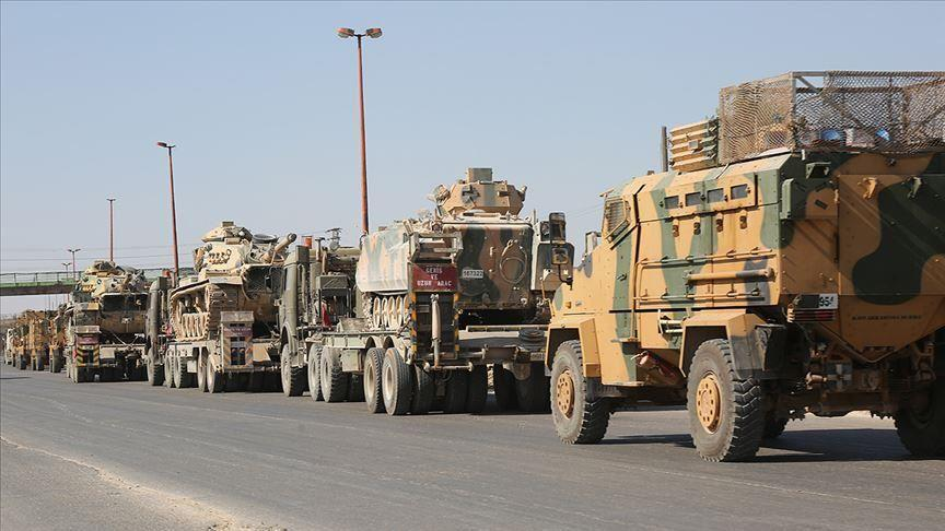 Turkish military and logistical reinforcements are  arriving to Idlib