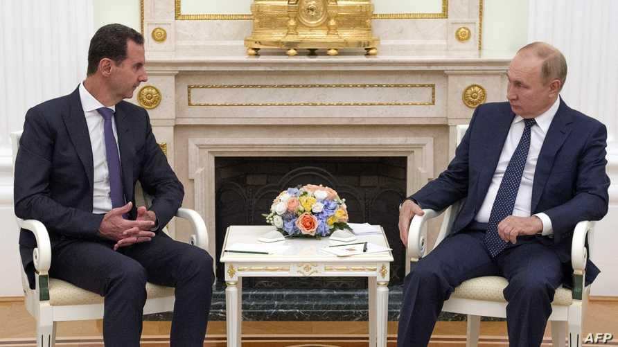 بعد لقائه مع الأسد...بوتين يخضع للحجر الصحي