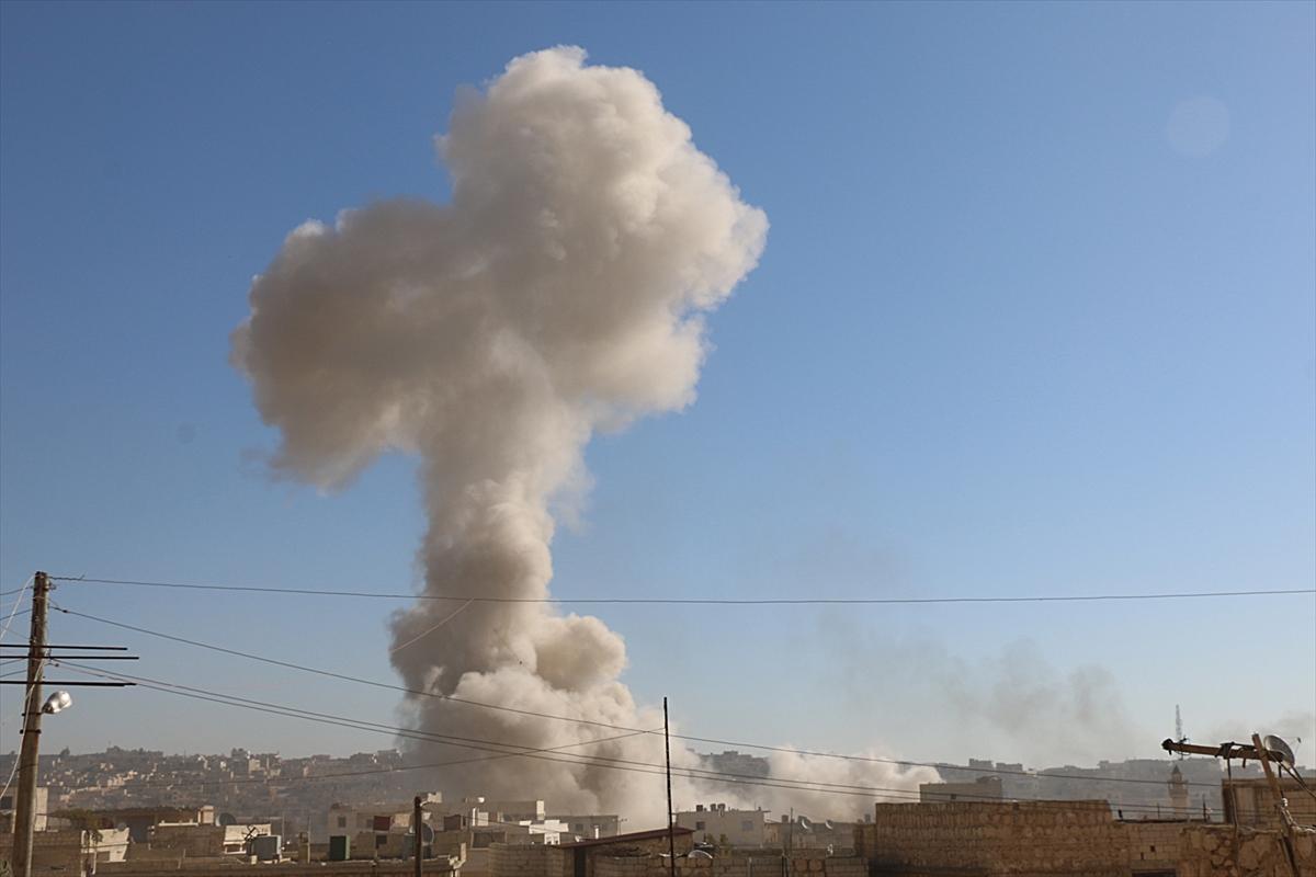 الطيران الروسي يشن غارات على بلدة دارة عزة في ريف حلب
