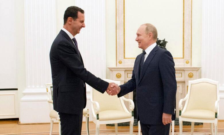صحيفة الوطن : إدلب كانت الأكثر حضورا في مباحثات بوتين وبشار الأسد