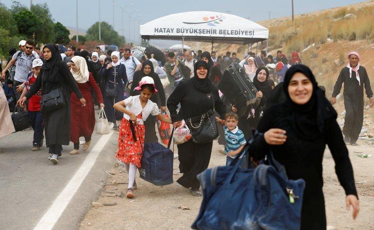 لجنة دولية: الوضع غير مناسب لـ عودة آمنة  للاجئين السوريين