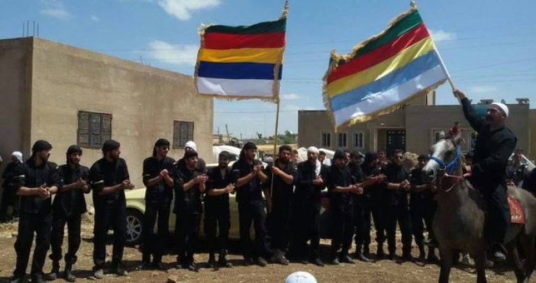 The Dignity Men movement surrounds the Military Security branch in As-Suwayda