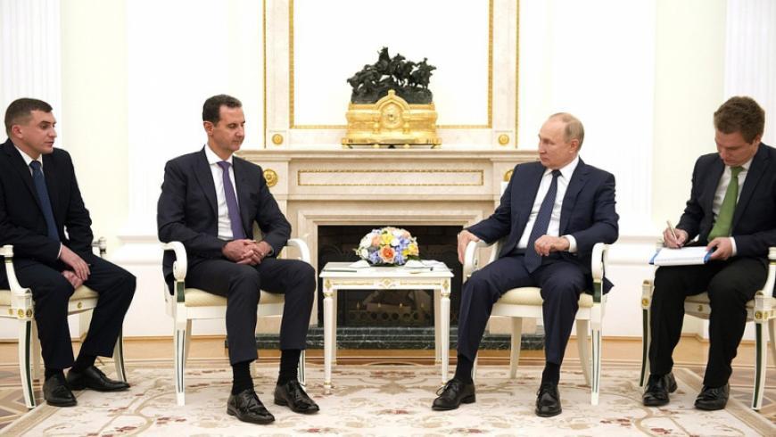 الكرملين: لاعتبارات أمنية.. لقاء بوتين والأسد لم يعلن عنه مسبقاً
