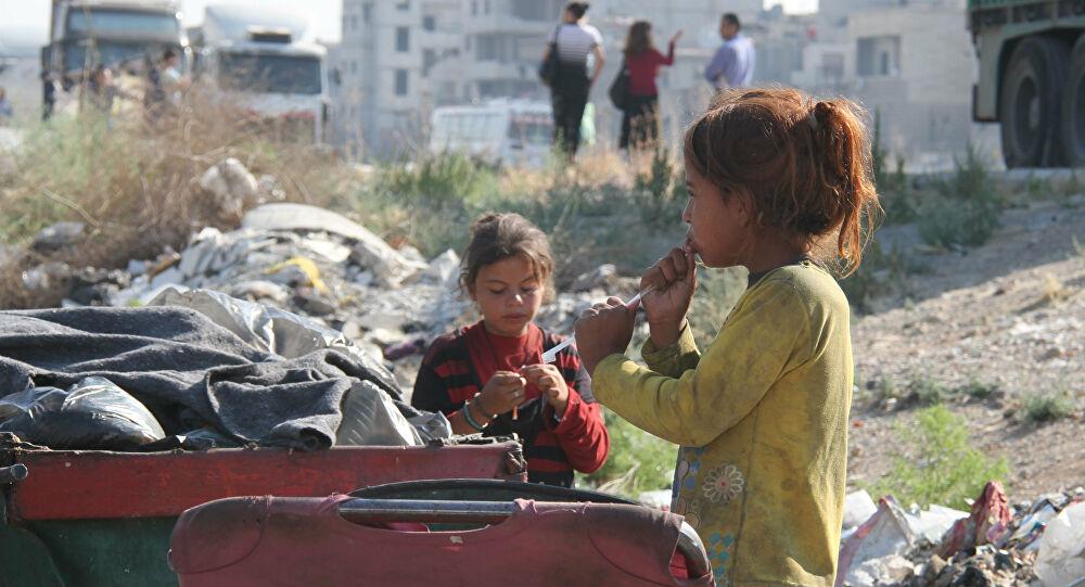 تقرير : 9 من بين كل 10 أشخاص يعيشون تحت خط الفقر في سوريا