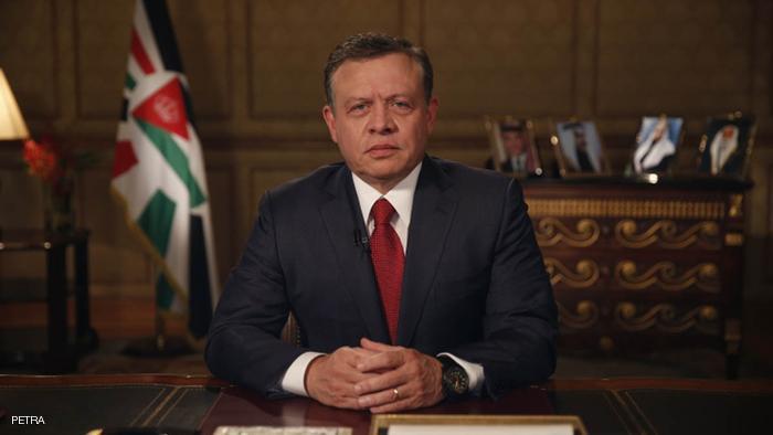 الملك الأردني: يؤكد الإستمرار في بتقديم الخدمات للاجئين السوريين