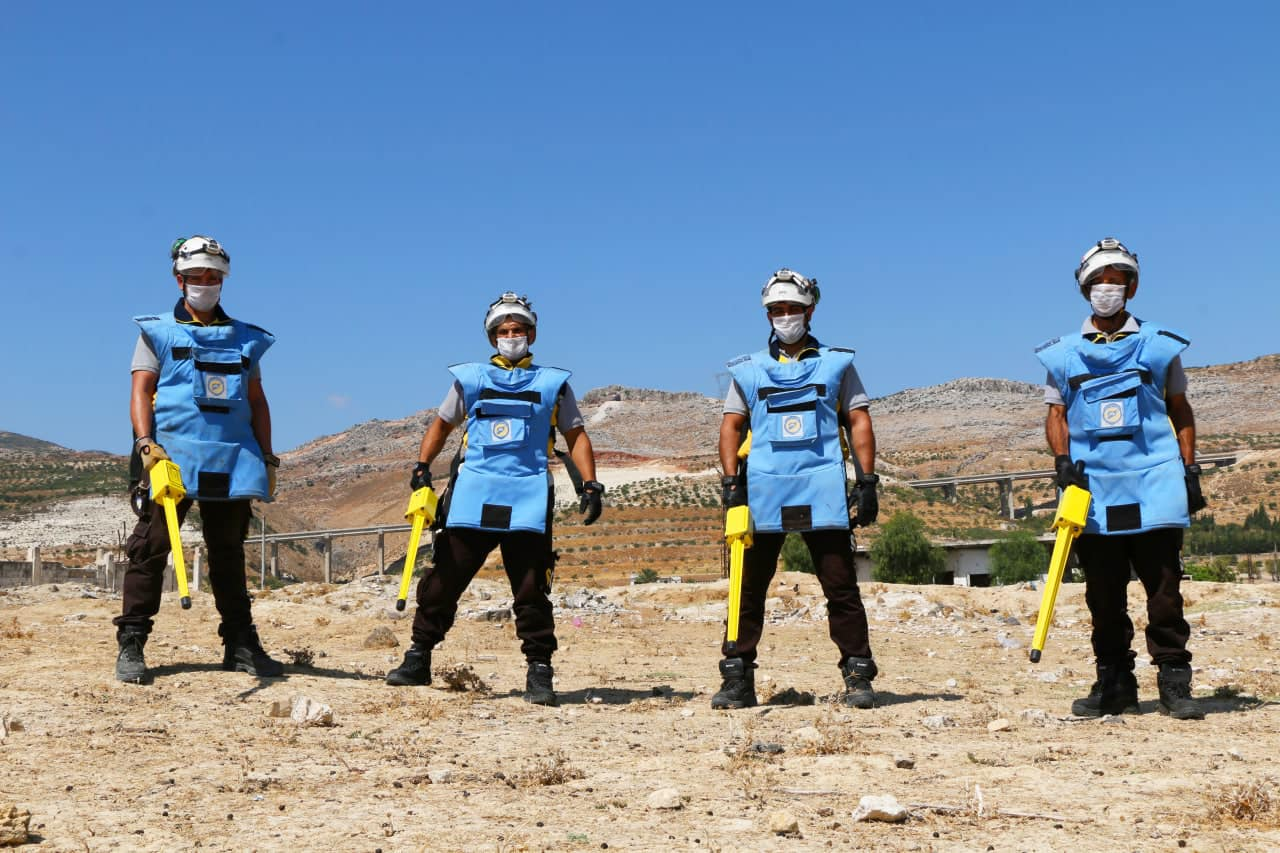 Civil Defense confirms presence thousands of unexploded ordnance in northern Syria