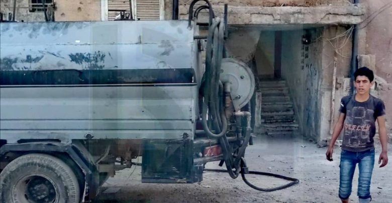The regime's fuel claims that they have distributed heating fuel allotments to the people