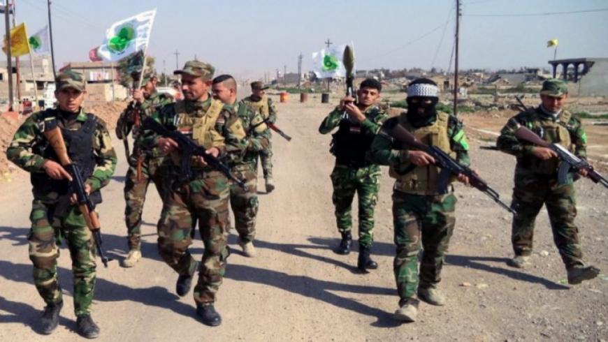 جرحى باشتباكات بين الحشد الشعبي والدفاع الوطني في البوكمال