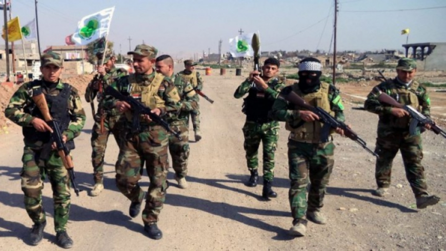 Injuries in clashes between the Popular Mobilization and the National Defense in Albu-kamal