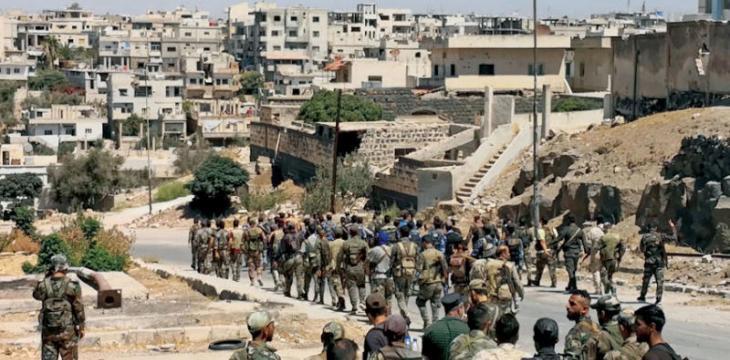 الدفاع الروسية تزعم أن استقرار الأوضاع في درعا جاء بفضل الجنود الروس