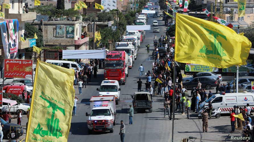 وسط أجواء احتفالية ...أول دفعة من المازوت الإيراني تصل إلى لبنان