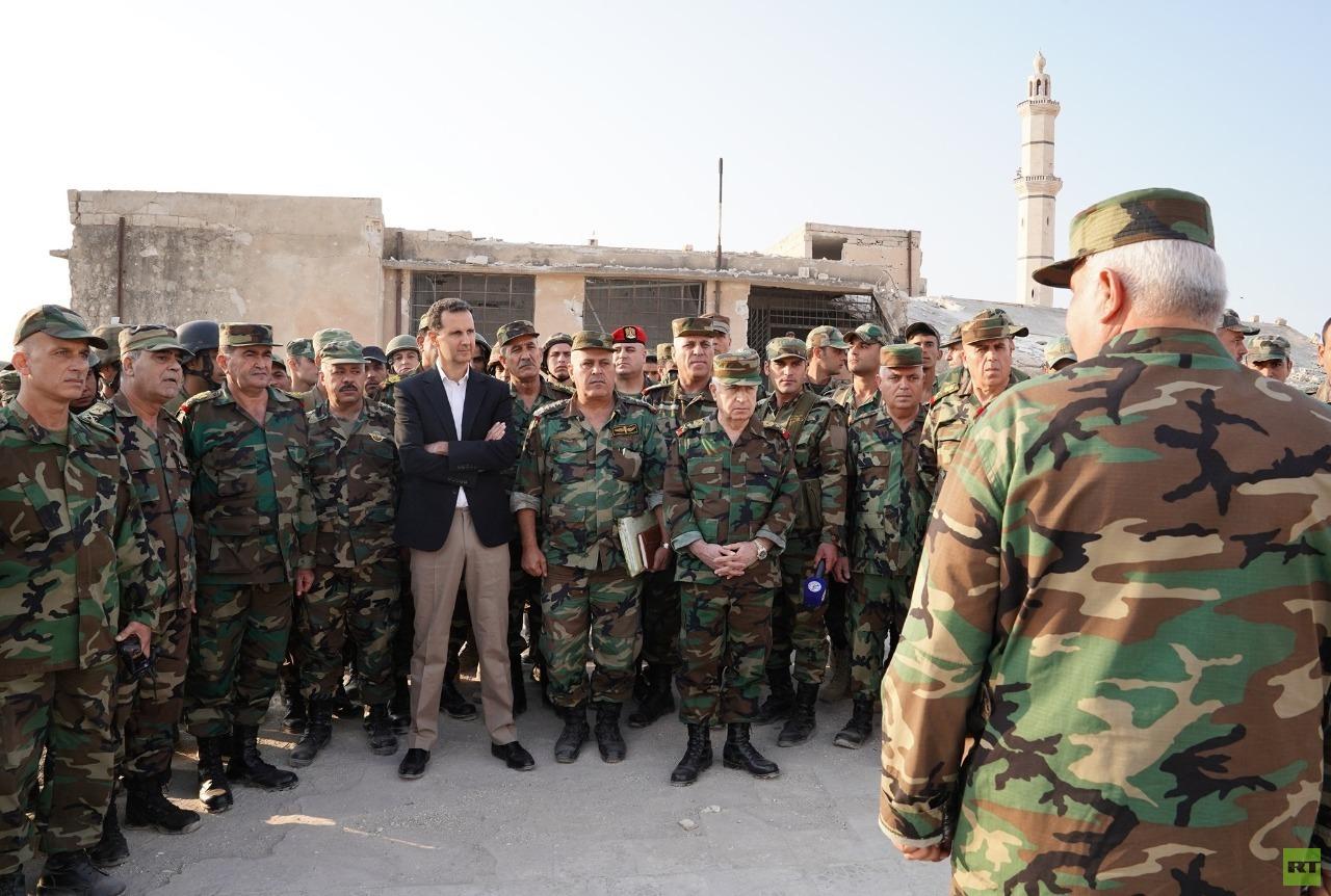 دراسة: النظام السوري يعيد بناء جيشه لمواجهة الشعب في الداخل   وليس إسرائيل