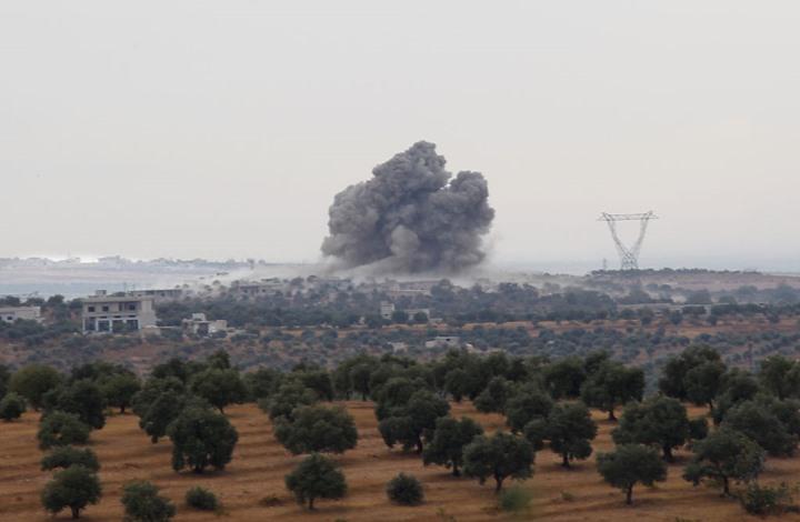 Civilian victims of Russian raids on Idlib countryside