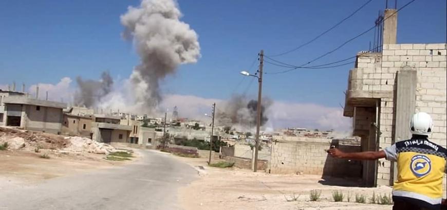 مقتل طفل وإصابة أخرين بقصف مدفعي لقوات النظام على ريف ادلب