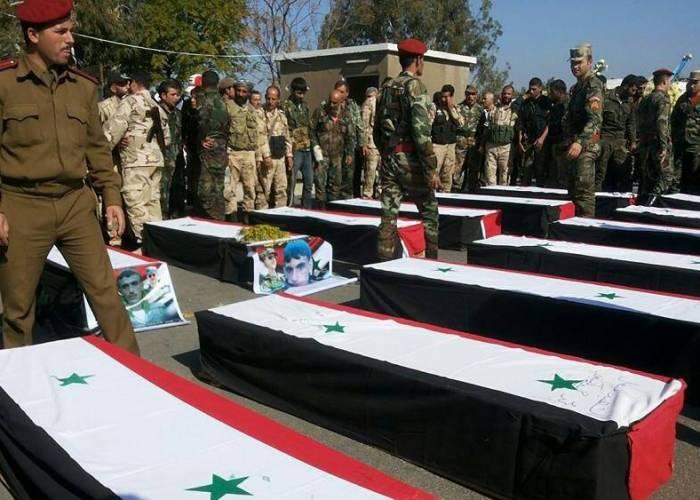 بالأسماء مقتل 5  عناصر  من قوات النظام  بينهم عميد و ملازم