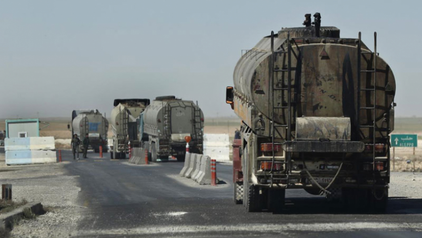 Al-Nujaba Movement seizes fuel tanks specified to the people of Deir Ezzor