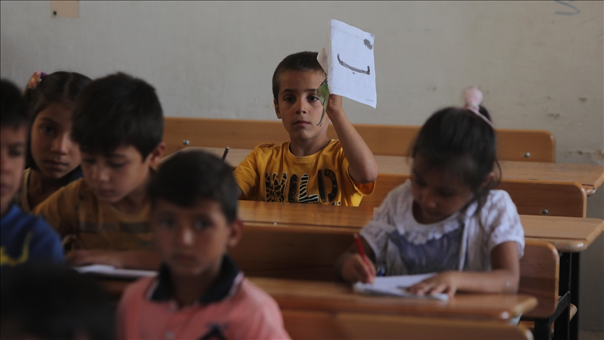 Ras Al-Ain and Tal Abyad schools receive students with the start of the new year