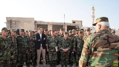 الأسد يصدر أمرا بخصوص جرحى عملياته العسكرية ضد السوريين