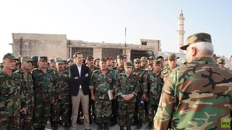 Al-Assad issues an order regarding the wounded in his military operations against the Syrians
