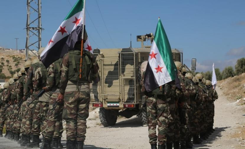 قيادي في الجيش الوطني يعلن عن الهدف من تشكيل الجبهة السورية للتحرير