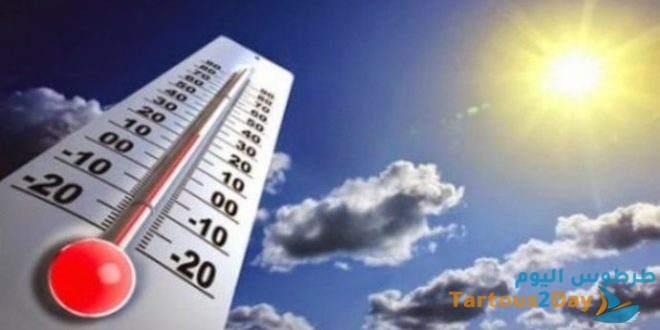 حالة الطقس : الجو متقلب بين الصحو والغائم