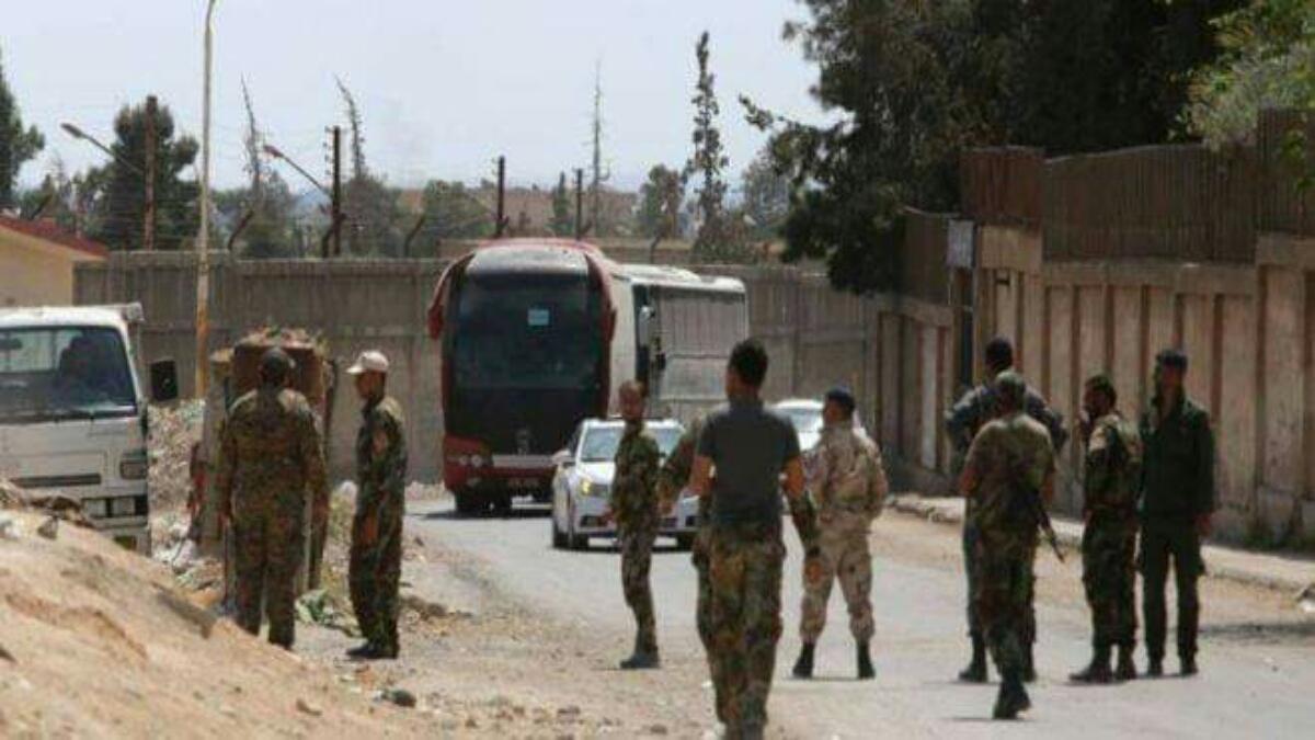 إشتباكات وإطلاق قذائف في درعا عقب اتفاق طفس