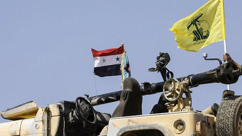 عربة تابعة لميليشيا حزب الله تدهس طفلين بريف حماه