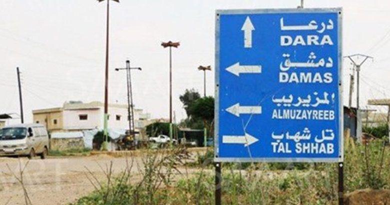 قوات النظام تدخل بلدة تل شهاب في ريف درعا