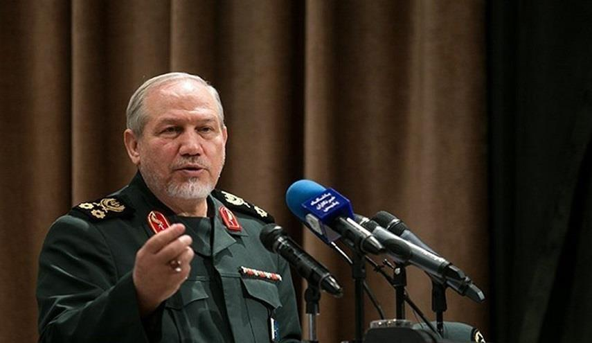 مستشار قائد القوات الإيرانية: على الأمريكان الفرار من سوريا