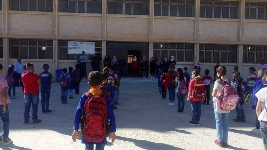 A university student kidnaps two girls in front of the school in Damascus countryside
